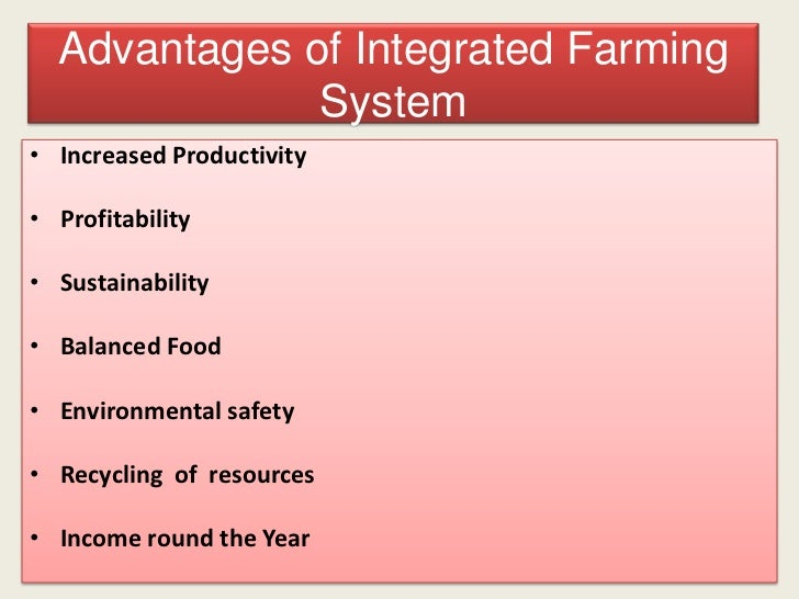 Integrated farming business plan