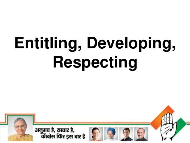 Entitling, Developing, Respecting