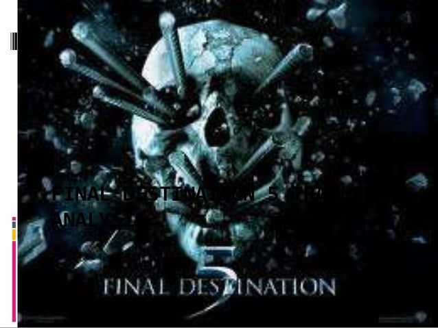 Final destination 5 trailer analysis