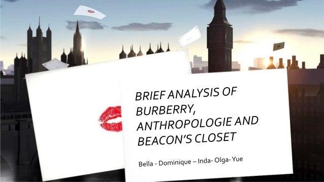 AGENDA  Meet the Brands  Burberry  Anthropologie  Beacon's Closet  Brands' aggressiveness  Brands' User Experience ...