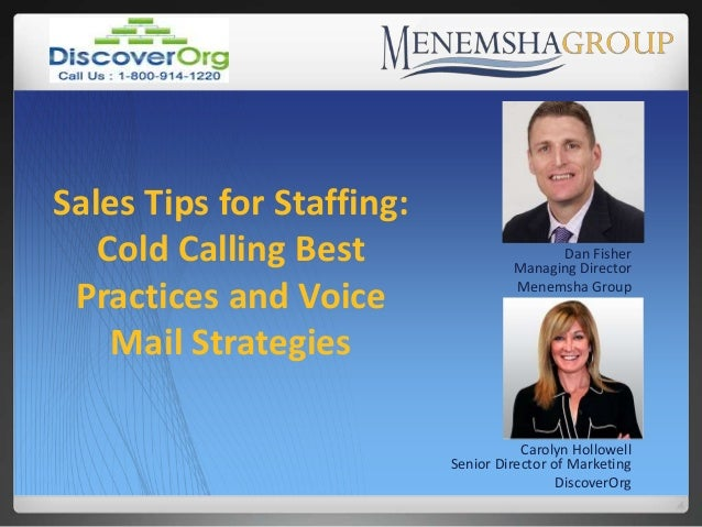 Sales Tips for Staffing  Cold Calling