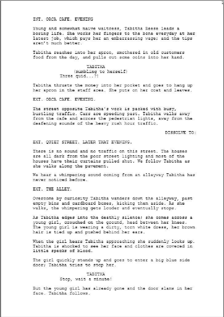 Final Draft Script By Billie Dwyer