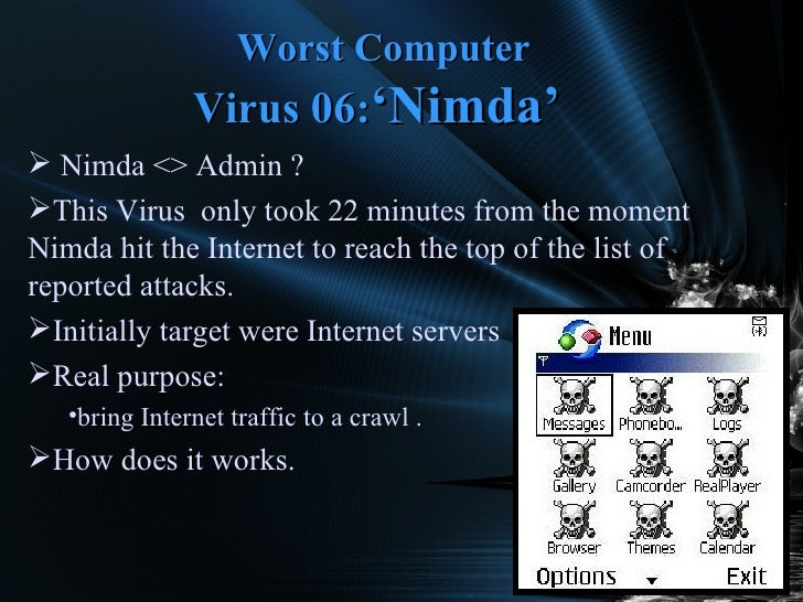 10 worst computer viruses of all