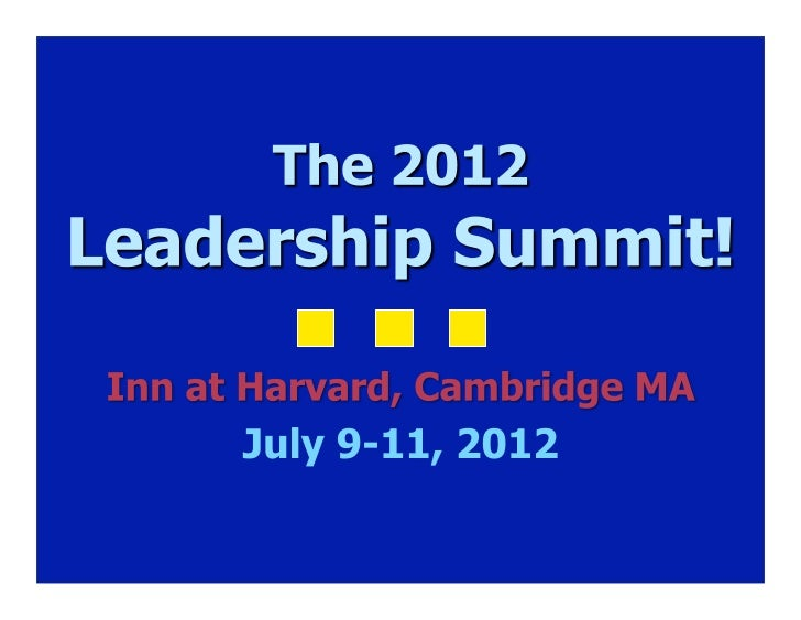 Dyslexia Leadership Summit 2012 Overview