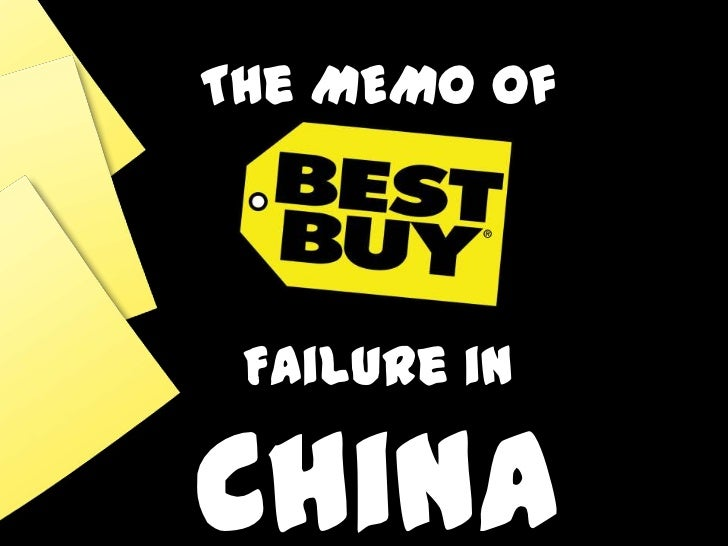 The MEMOof<br />Failure in China<br />
