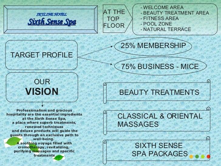 Business plan spa