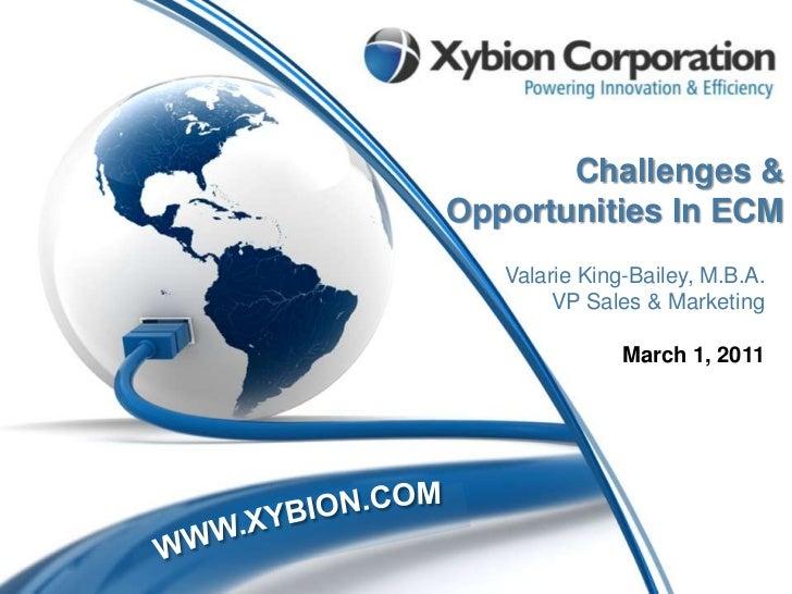 Xybion Enterprise Content and Data Management