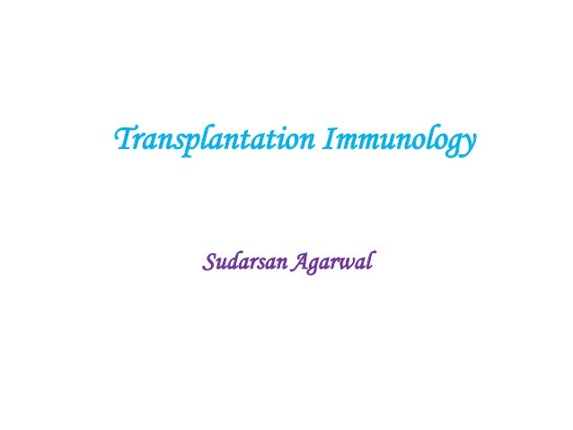 Organ transplantation immunology basics