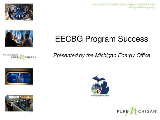 EECBG Program Success 2012