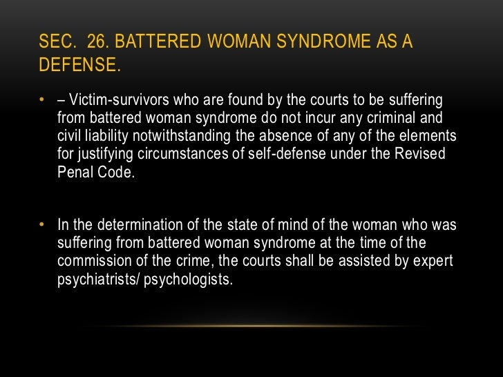 the classical theory of battered womens syndrome and its origins An overview of the classical theory of battered womens syndrome and its origins more than 6,500 usc an overview of the french guiana in northeast coast of south.