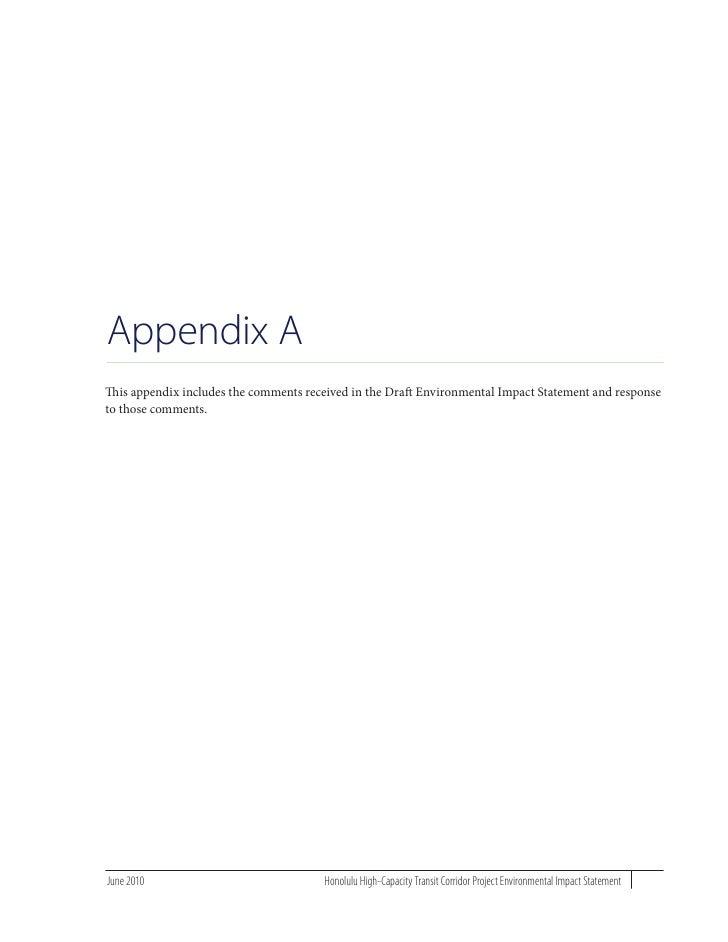 Final EIS Appendix A Part 1