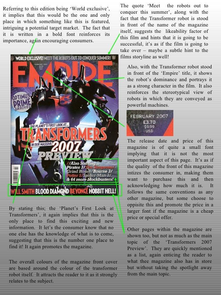 LjPicturesss - Empire Magazine Analysis