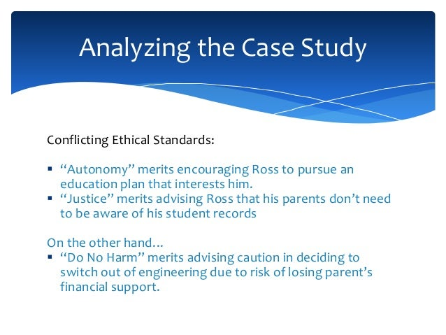 case study with ethical dilemmas in counselling