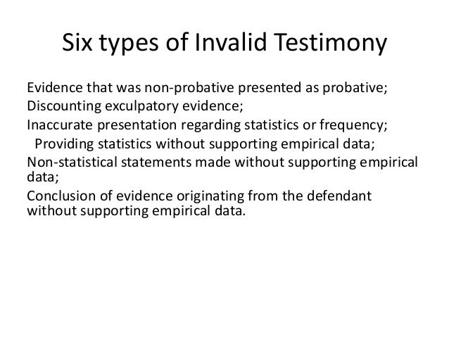 disclosure exculpatory statement