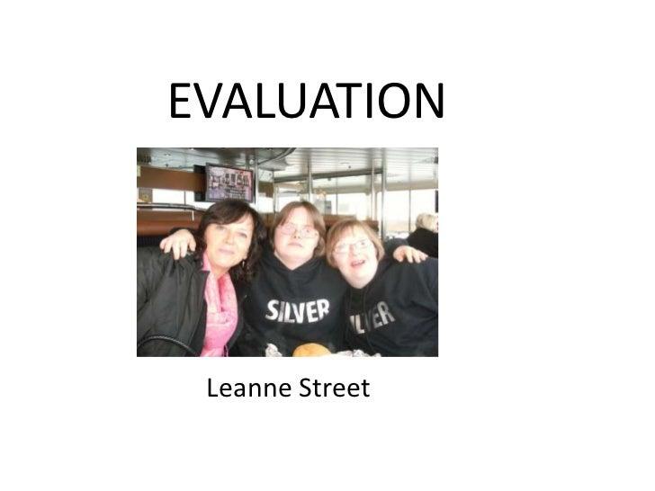 Final evaulation leanne stree ttttttt