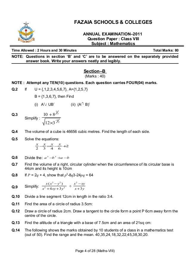 sixth term examination paper 2011 Download free past papers, mark schemes and other resources to help you prepare for step (sixth term examination paper) mathematics.