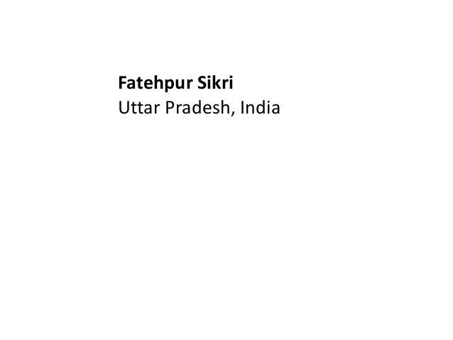 Final fatehpur sikri