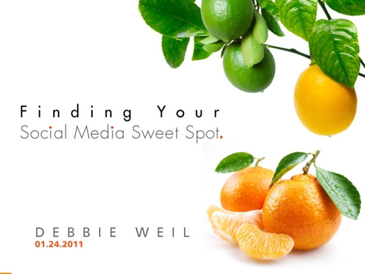 Your Social Media Sweet Spot