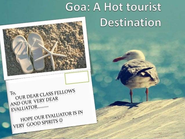 GOA-tourist destination--consumer perspective