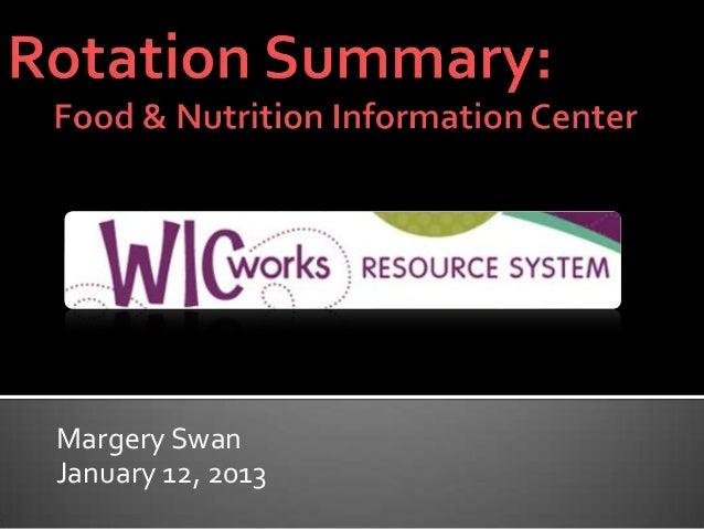 Margery SwanJanuary 12, 2013