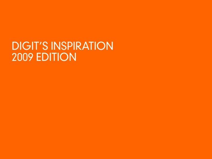 Digit Inspiration 2009