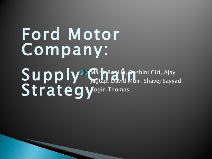 ford marketing strategy essays Keywords: ford factors for success, ford marketing strategy introduction this case analysis is made on ford motor company, presented below are key success factors.
