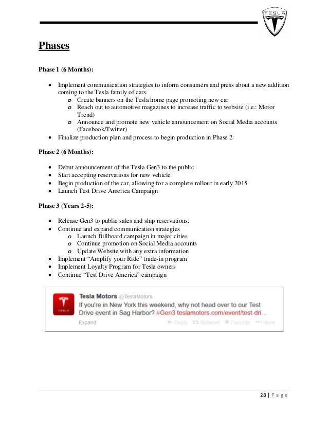 marketing plan phase ii essay