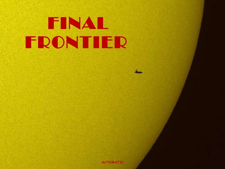 FINAL    FRONTIER AUTOMATIC