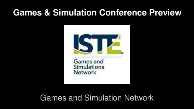 Games & Simulation Conference Preview  Games and Simulation Network