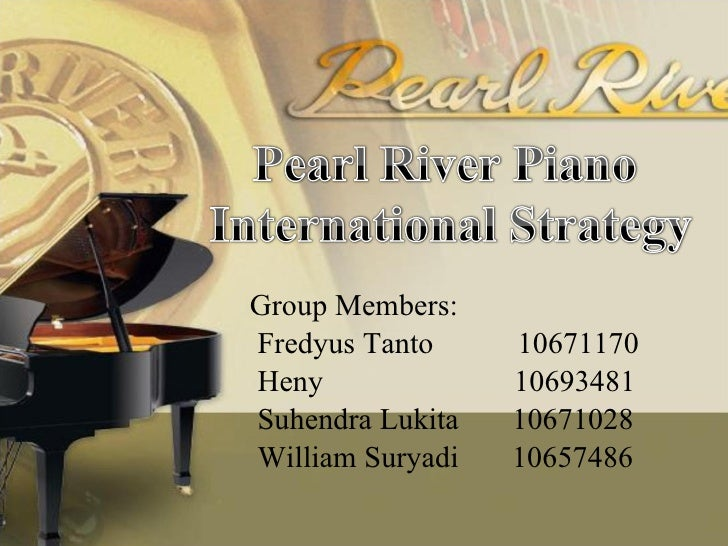 pearl river global strategies The demonstration program in the pearl river delta plans to be implemented  from  developing countermeasures, strategies and solution tools and etc.