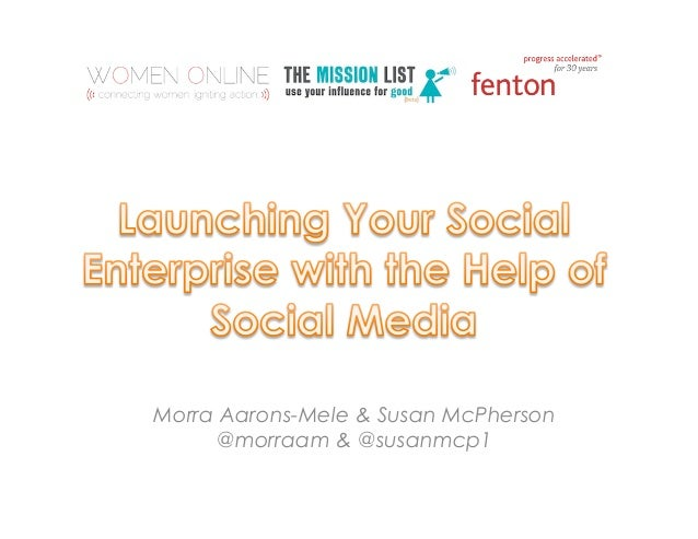 Morra Aarons-Mele & Susan McPherson     @morraam & @susanmcp1