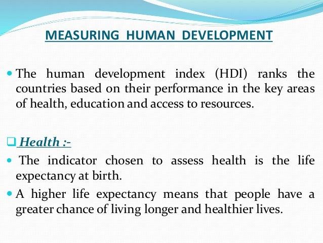 HDI Human Development Index