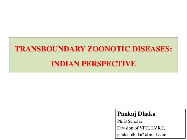 Transboundry Zoonotic Diseases