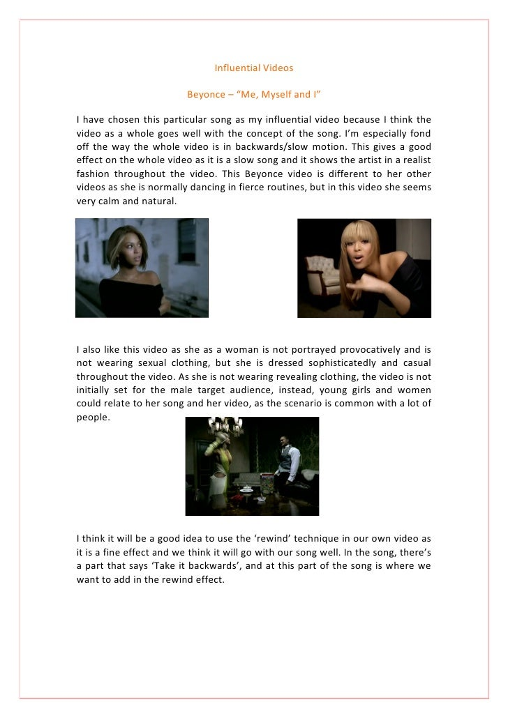 Final Influential Music Videos