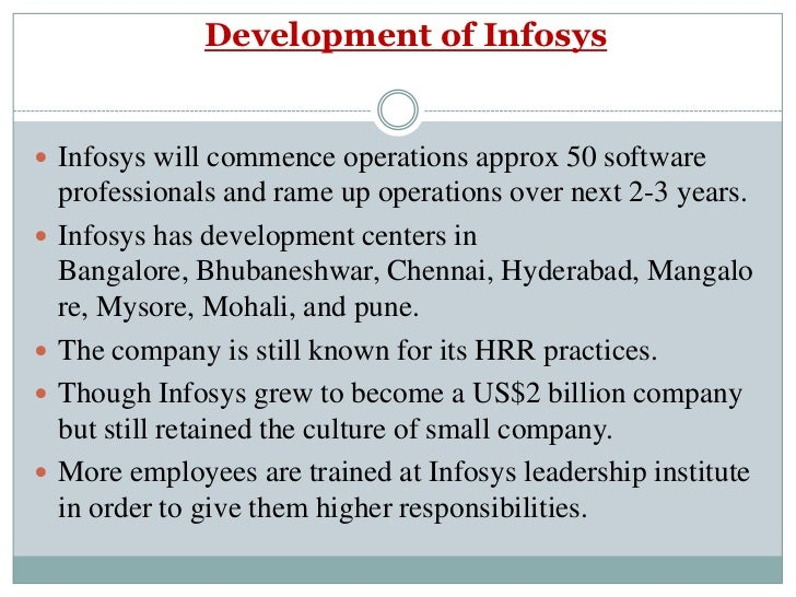 hr issues of infosys