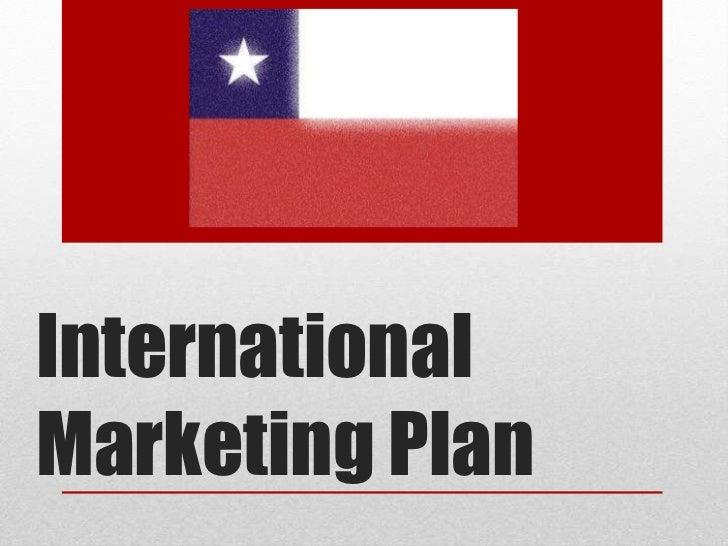 Final international marketing powerpoint chile