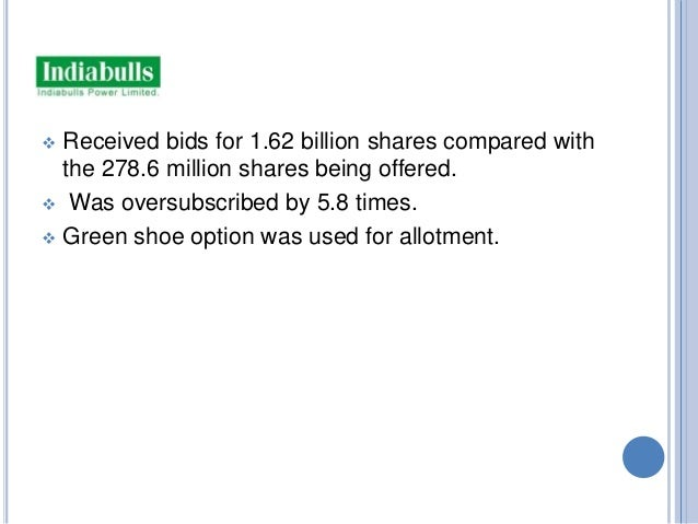 What is the term for an IPO where demand for shares is higher than supply?