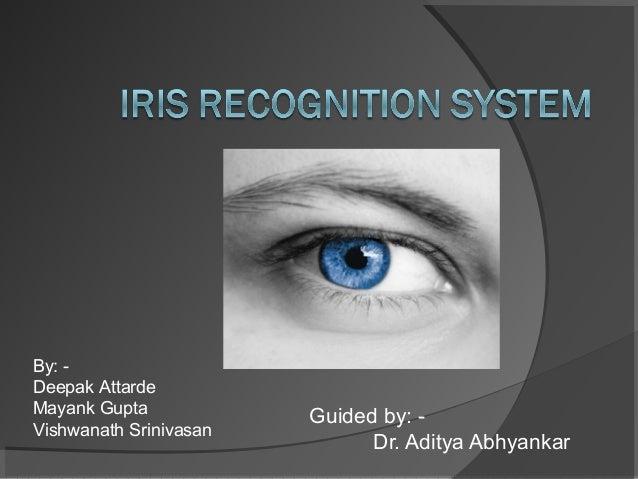 IRIS RECOGNISATION