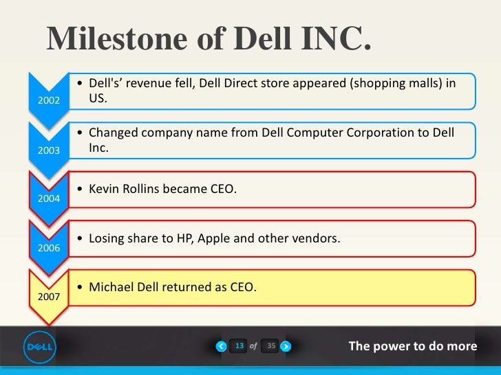dell hbr case study The purpose of this inquiry is to benchmark the dell computer corporation and   our benchmarking case study will proceed in four stages: (1) an examination   michael dell harvard business review, march/april, 73-84.