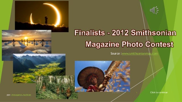 Finalists - 2012 Smithsonian Magazine Photo Contest