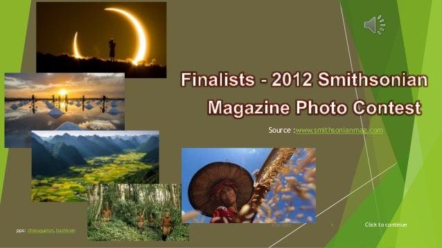 Finalists - 2012 Smithsonian Magazine Photo Contest