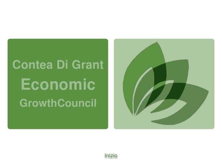 Contea Di Grant  Economic  GrowthCouncil                      Inizio