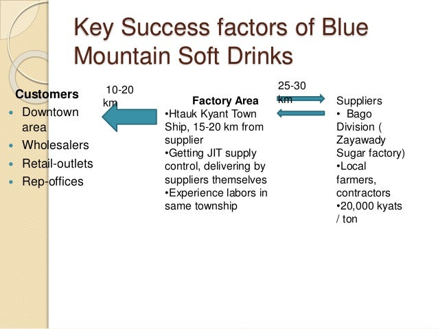 pepsi co key success factors Pepsi's success under guth came  from insults by pepsi co-workers to  where customers who bought a bottle of pepsi could win a car by choosing the right key for.