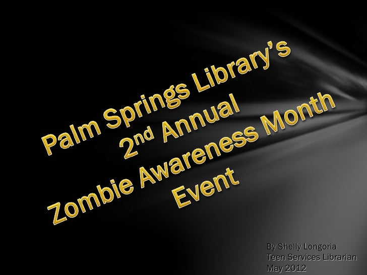 2012 Zombie Awareness Month