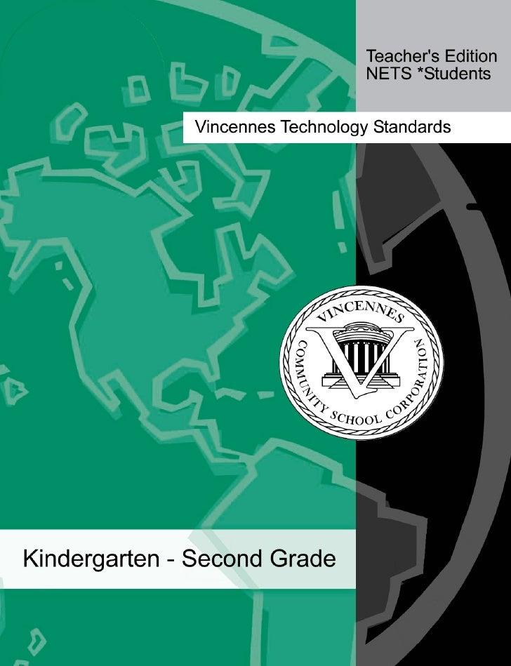 Technology Proficiencies- K-2