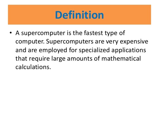 Related keywords suggestions for supercomputer definition for What is the significance of pi s unusual name