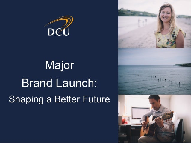 Major Brand Launch: Shaping a Better Future