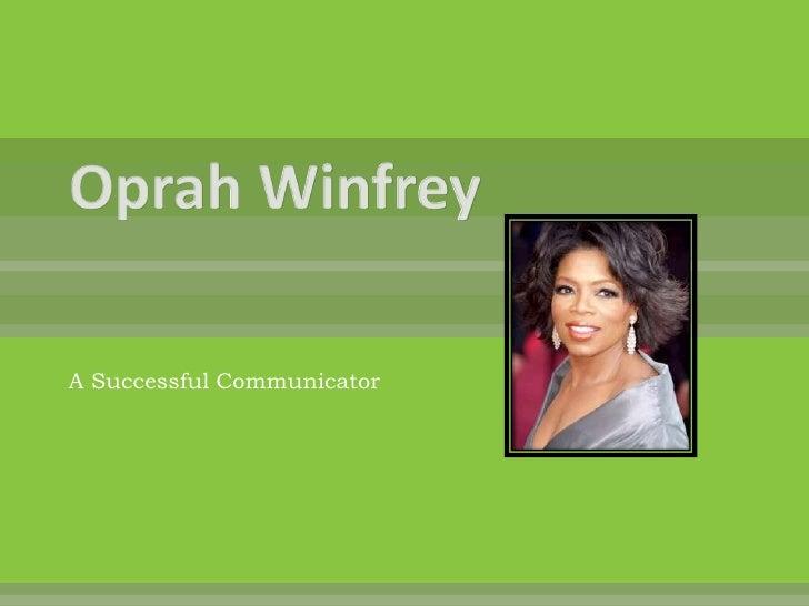 Communncation Leader_Oprah Winfrey