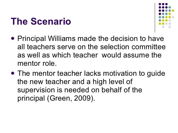 Challenging leadership scenario?