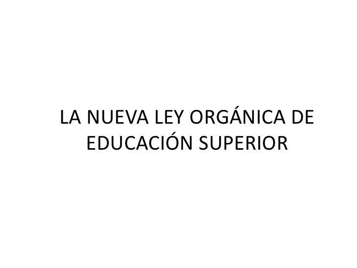 Final ley educación